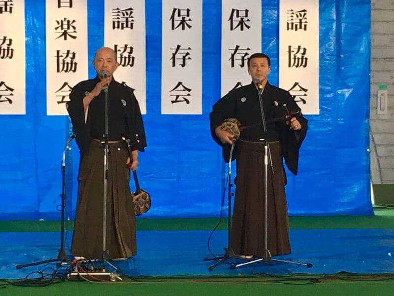 新春民謡合同弾き初め会