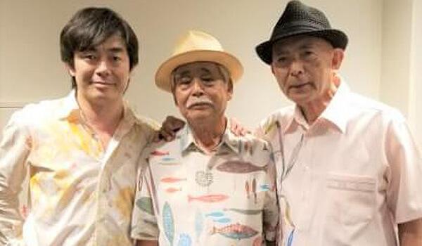 琉球音楽祭の三人